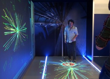 CERN interactive tunnel
